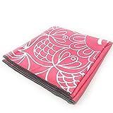 HoGau Yoga-Matten Dickes und superweiches Yoga-Handtuch, Schweiß absorbierend, rutschfest, 72'x 26'...