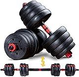 Sportstech 2in1 innovatives Hantel Set AH150   Kurzhanteln & Langhanteln   Hanteln im 20kg, 30kg,...