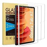 SPARIN 2 Stück Panzerglas Schutzfolie Kompatibel mit Samsung Galaxy Tab A7 2020 mit Montagerahmen,...