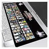 Gaming Mauspad,Kampfspiel-F Office Mauspad,800x300x4mm Multifunktionales Mousepad,Komfortable...