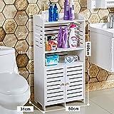 SXFYZCY Badezimmerschrank Boden Badezimmer wasserdichter Schrank WC Seitenschrank Toilettenschrank