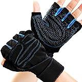 ORLEGOL Fitness Handschuhe, Trainingshandschuhe, Gewichtheben Handschuhe mit Handgelenkstütze und...