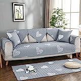 Ginsenget Home Chaiselongue Sofabezug,Beschützer für Sofas Jacquard Sofahusse Sofabezug Couch...