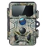 APEMAN Wildkamera 20MP 1080P mit 16GB SD-Karte, 120° Erkennungsreichweite 116° Weitwinkel Linse,...
