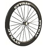 Kohlefaser Rennrad Laufradsatz 700C Drahtreifen 23mm Breite Shimano 8/9/10/11 oder Campagnolo 10/11...