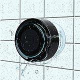 HAISSKY Bluetooth-Duschlautsprecher, Portable Bluetooth Lautsprecher tragbarer Waterproof Wireless...