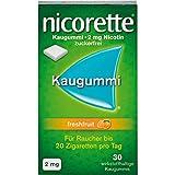 nicorette Kaugummi 2 mg Nicotin zuckerfrei freshfruit, 30 St. Kaugummi