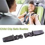 Autositz Brustgurt Clip, Kindersicherheitsgurt Schnalle Gurt Gurt für Kinder, tragbare Kleinkind...