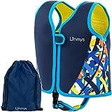 Limmys Premium Neopren Schwimmweste, ideale Schwimmhilfe für Jungen, EXTRA Kordelzugtasche...