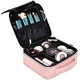 NiceEbag Kosmetikkoffer Makeup Organizer abnehmbar Zug Kasten mit mehrere Make up Fächer tragbare...