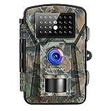 APEMAN Wildkamera 16MP 1080P mit Infrarot-Nachtsicht bis zu 65 Fuß/20 m IP66 Spray Wasserdicht für...