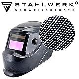 STAHLWERK ST-450RC Automatik Schweißhelm vollautomatisch abdunkelnd, einstellbare Parameter, inkl....