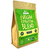 BodyMe Bio Vegan Protein Pulver Mischung   Naked Natürlich   1kg   UNGESÜßT   Kohlenhydratarm  ...