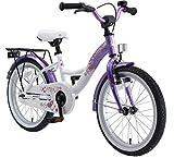 BIKESTAR Kinderfahrrad fr Mdchen ab 5 Jahre | 18 Zoll Kinderrad Classic | Fahrrad fr Kinder Lila &...