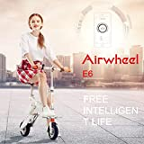 Airwheel Faltbare Elektro-Fahrrad E6 Elektroroller Mit Abnehmbarem Akku Erwachsener Lithium...