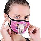 CZLXD Anti-Staub-Maske mit Wasserfarbe, Bullenschädel-Blumen, für Damen und Herren