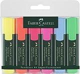 Faber-Castell 154806 - Textmarker TEXTLINER 48, 6er Etui