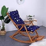 Auflage für Garten-Liege,Sonnenliege Kissen, Classic Outdoor Indoor Garden Patio Reclining Relaxer...