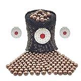 300 Stück Schleuder Munition, 10 mm harte Ton Schleuder Munition Kugeln, biologisch abbaubar...