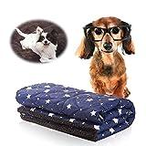 suily wasserdichte Haustier Decke, Premium Weiche Warme Fleece Hund Katze Sherpa Wirft Kissen...