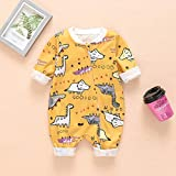 Sanahy Bodys süßes Baby Neugeborenes Mädchen Fox Print Kombination Kleidung Overall Outfits...