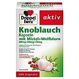 Doppelherz Knoblauch Kapseln mit Mistel und Weißdorn – Arzneimittel zur Vorbeugung allgemeiner...