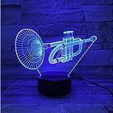 Nacht licht LED Nachtlicht Kornett Licht Fernbedienung Touch Control Licht Jungen Geschenke...