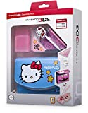 Nintendo 3DS - Zubehr-Set 'Essential Hello Kitty' Blau (3DS/DSi)