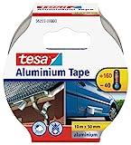tesa Aluminium Klebeband / Selbstklebendes Aluminiumband für Reparaturen von metallischen...