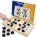 Gr8ware Fast Sling Puck Spiel, lustiges Hockey-Tisch Spiel Sling Puck Gewinner Board Eltern-Kind...