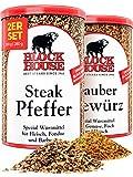 Block House Grillset Gewürzmischung Zaubergewürz 280g & Steak Pfeffer 200g