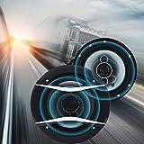 2 Stücke 6 Zoll 650 Watt 4-wege Auto Auto HiFi Koaxial Lautsprecher Fahrzeugtür Auto Audio Musik...