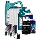 Bosch Inspektionsset Komplett + 7L Addinol 5W-30 Öl