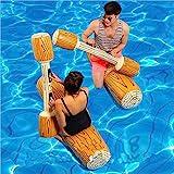 LONEEDY 2 Stück gesetzte aufblasbare Schwimm Reihe Spielwaren, Erwachsene Kinder-Pool-Party...