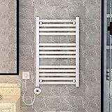 KaiKai Wandhalterung Handtuchwärmer, Plug-in 304 Edelstahl Handtuchwärmer for Bad Küche poliert,...