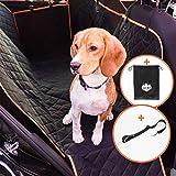 Adventure Paws Autoschondecke für Hunde - Rücksitz Hundedecke geeignet für alle Autos -...