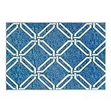 WCZ Wohnzimmer Fußmatte Dekoration, Teppich Marmor Bodenmatte Modern American Carpet Teppich Nordic...