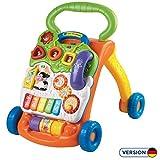 VTech Baby 80-077064 - Spiel und Laufwagen, Normalverpackung, Bunt-Grn/Orange