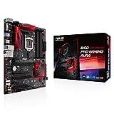 Asus B150 Pro Gaming/Aura Mainboard Sockel 1151 (ATX, Intel B150, 4x DDR4 Speicher, 6x SATA 6Gb/s,...