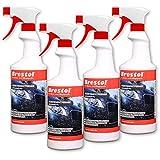 Brestol Insektenentferner 4X 750 ml gebrauchsfertig - Insektenlöser Polycarbonat geeigneter...