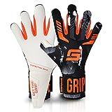 GRIPMODE Gravity Hybrid Torwarthandschuhe I Torhüter Handschuhe mit Belag aus Griptec® Latex für...