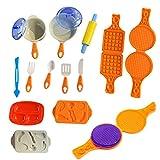 JUSTDOLIFE JUSTDOLIFE Knetform, Spielzeug, 15 Stück