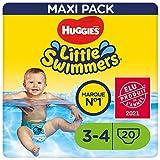 Huggies Little Swimmers Schwimmwindeln, Größe 3-4 (7-15 kg), 1 Packung mit 20 Stücke
