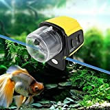 Absir Digitaler automatischer elektrischer Futterautomat mit Timer für Zuhause, Aquarium,...