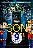 Geburtstagskarte zum 9. Geburtstag des Sohnes – Batman Lego – innen farbig – Versand am selben...