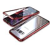 Jonwelsy Forte Schutzhülle für Samsung Galaxy S8 Plus, magnetische Adsorptionstechnologie mit...
