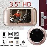 Dyna-Living Gegensprechanlage, Videotelefon, kabellos, Klingel mit Kamera, Videoberwachung, kabellos