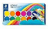 Staedtler Noris Club 888 NC12 Farbkasten, leicht mischbare Wasserfarben, hohe Farbbrillanz,...