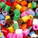 Bügelperlen, Größe medium mm, Größe 5x5 mm, Standard-Farben, 30000sort, Lochgröße 2,5 mm