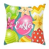 Kissenbezüge drucken Ostern Rabbit Kaninchen Kissenbezug Kissenbezug Zierkissenbezüge Throw Pillow...